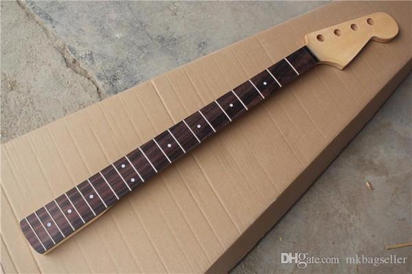 Venta caliente de fábrica 20 trastes diapasón de palisandro 4 cuerdas bajo, mástil de guitarra, se puede personalizar-17-11