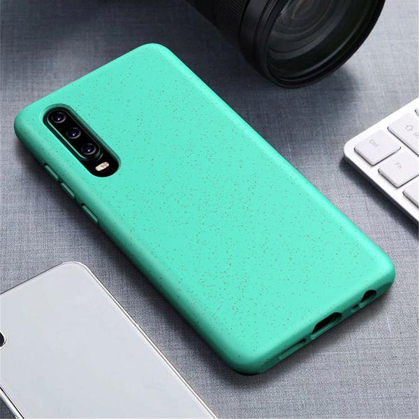 2020 nuovi arrivi magnetica cassa del telefono biodegradabile paglia di grano per Huawei P30 Mate Pro Lite 30