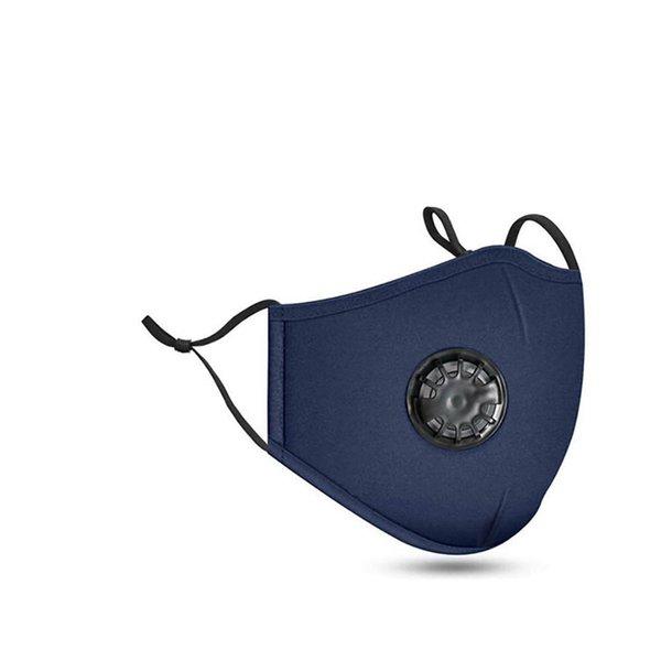 Azul con válvula sin filtro