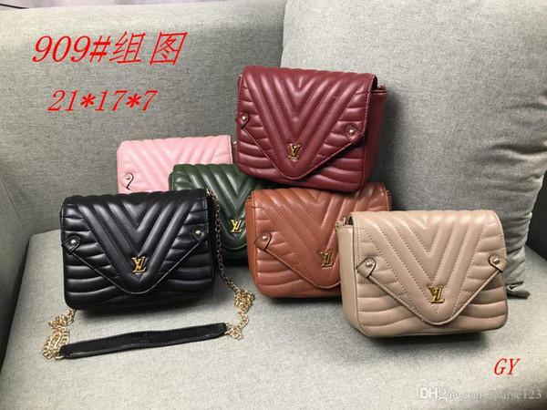 GY 909-1 # Miglior prezzo di alta qualità delle donne signore singola borsa tote spalla borsa a tracolla borsa portafoglio