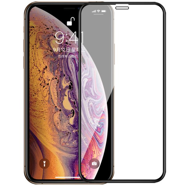 Full coverage Tempered Glass Film for iPhone XS Max XR X 8 7 6s 6 Plus 5s SE Ultra thin Phone Screen Protector 9H Hardness Scratch-Resistant