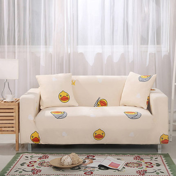Enjoyable Stretch Fabric Sofa Covers Lines Elastic Sofa Protector Cover For Living Room Loveseat Slipcovers Sectional Shape Sofacover Wedding Table Linens Andrewgaddart Wooden Chair Designs For Living Room Andrewgaddartcom