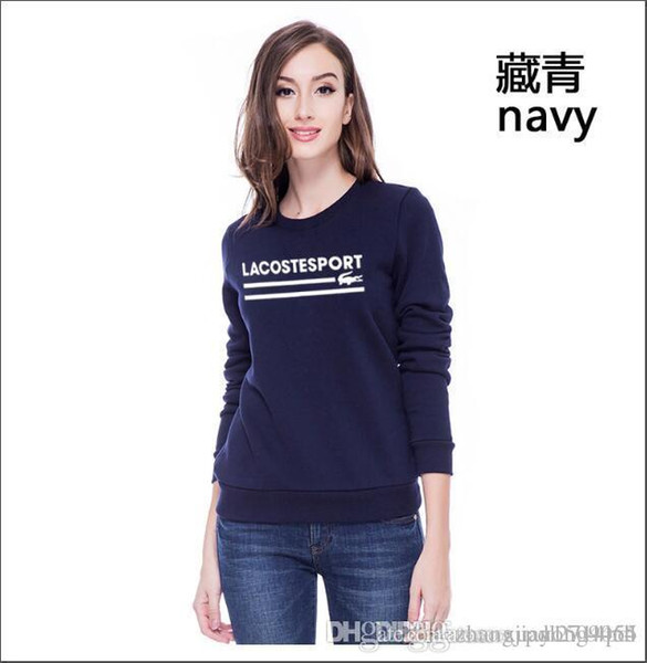 Women's spring and autumn new long-sleeved t - shirt women early autumn trend jacket round collar cover head sweater