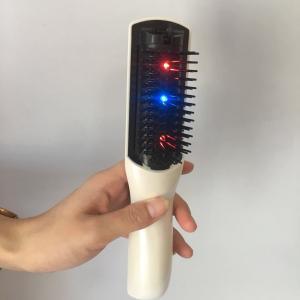Masaje vibrante eléctrico peine circulación de la sangre cuero cabelludo masajeador cepillo cabeza estimulación peines nueva moda estilo de pelo herramienta LJJR292