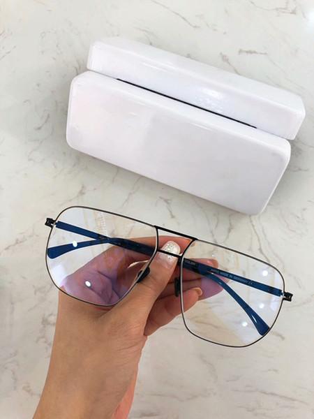 Quality MYK metal double-bridge pilot glasses frame58-14-14Korea star metal big-rim frame GG2280 younger sunglasses low prescription glasses