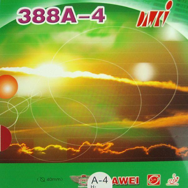 Dawei 388A-4 388A 4-Gang + Spin Pips-In Tischtennis (PingPong) Gummi Mit Schwamm vier Schwammstärken