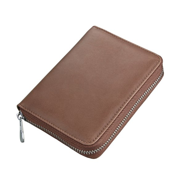 Men's Passport Bag Cowhide Multifunctional Lady Card Cover Credit Card Cover Universal bag for men and women