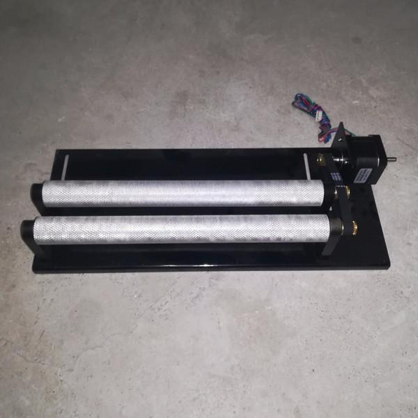 ZODO Rotativo eixo / cilindro rolo ferramentas rotativas garrafa de vinho ou copo para máquina de gravação a laser M2 mainboard gravura