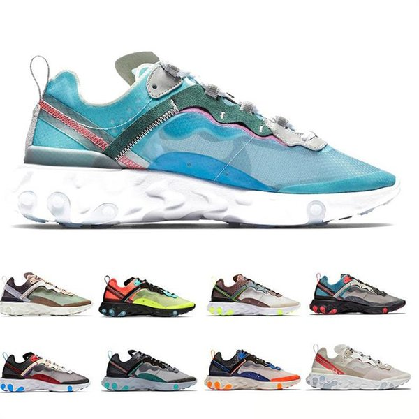 Nuovo Total Orange Epic React Element S0UTH87 55 Scarpe da corsa per donna uomo Dark Grey Blue fashion luxury mens donna sandali firmati