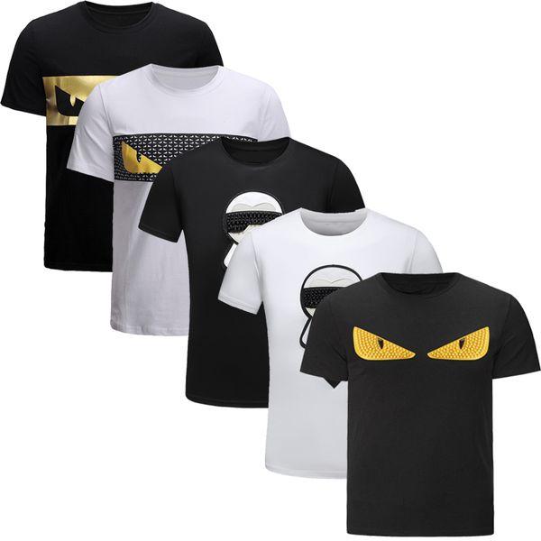 2019 Novidade Designer de Moda T Camisas Para Homens Camisetas Casual T Shirt Das Mulheres Dos Homens T Camisas de Manga Curta Tshirt Camisa atacado