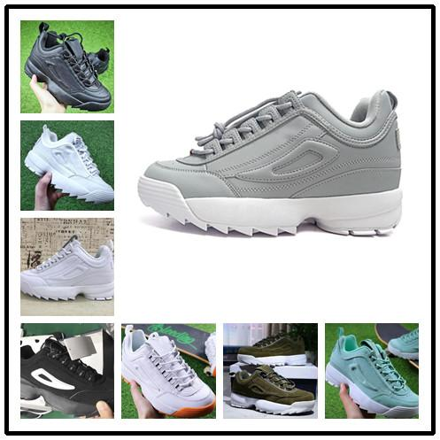 2018 New Raf Simons x Disruptors 2.0 II Women Mens Running Shoes raf simons ozweego Sawtooth Casual Dad shoes Designer Sneakers 36-44