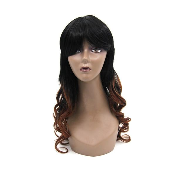 Starlight peluca rizado pelo largo onda femenina realista
