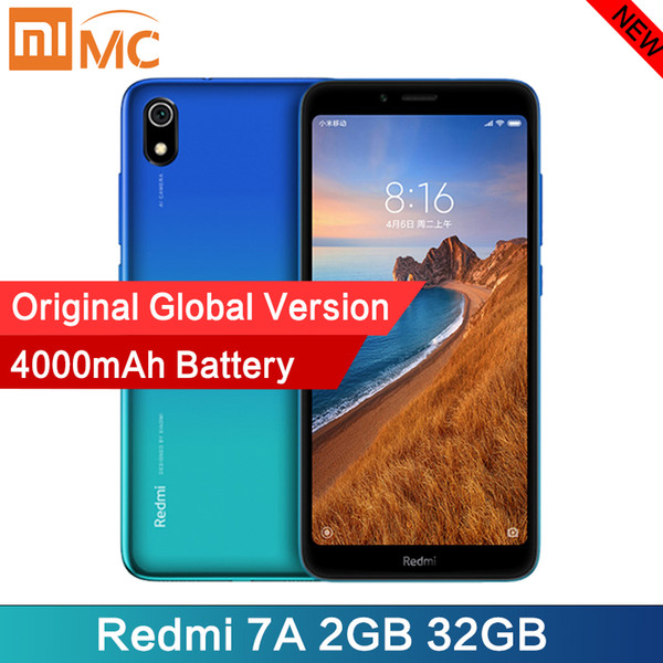 (Pré-venda) versão global Xiaomi redmi 7A 2GB 32GB Smartphone 5.45