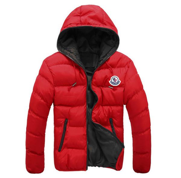 Wholesale- 2017 Branded Men's Ultra Light Down Jackets White Duck Down Padded Coats Warm Down Parkas Winter Outerwear Men