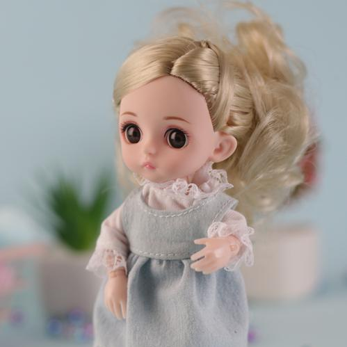 NEW bjd Doll set simulation joint dream Yerely girl princess children's toys 1/12 16cm fashion doll birthday present