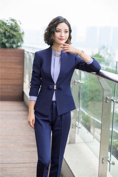 Costume pantalon bleu