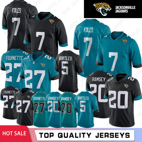reputable site adccd c7268 2019 Latest 7 Nick Foles Jacksonville 20 Jalen Ramsey Jaguar Jersey 27  Leonard Fournette 5 Blake Bortles 84 Keelan Cole Football Jerseys From ...