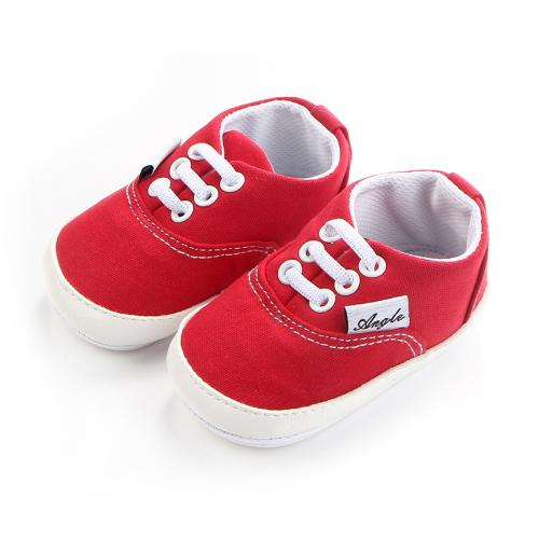 Bebê meninos meninas lona criança sapatilha antiderrapante primeiro caminhantes doces sapatos