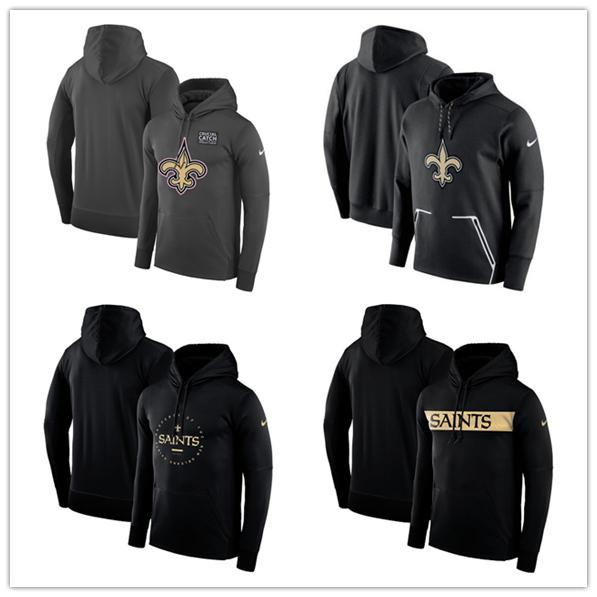 47fe90a50 Men s Sports New Orleans Saints jersey fashion movement Women s Crucial  Catch Performance Pullover football Hoodie -