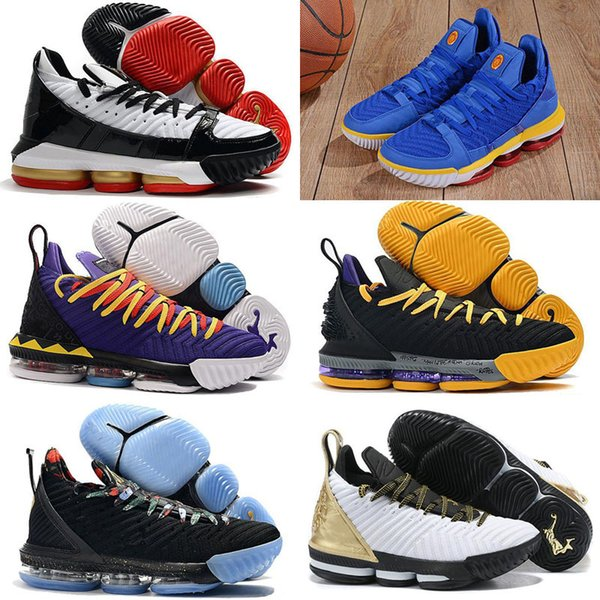 Best quality 16 XVI EP Superman Blue Varsity Red Martin All Stars Black White Equality Basketball Shoes 16s Men Sports Sneakers 7-12