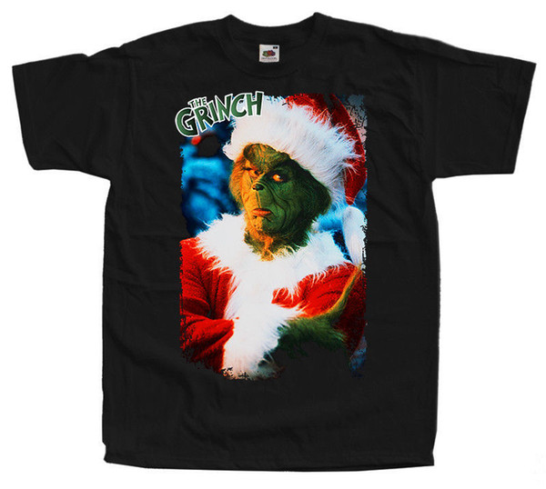 How The Grinch Stole Christmas Movie Poster.How The Grinch Stole Christmas T Shirt Black Movie Poster S 5xl100 Cotton V3 Raid Shirt T Shirts In A Day From Cooltshirts50 11 48 Dhgate Com