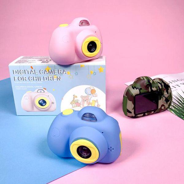 Детская мини-камера игрушка цифровая фотокамера детские игрушки развивающие фотографии подарки игрушка малыша 8MP HD камера для детей