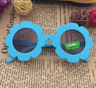 # 2 عباد الشمس الإطار أطفال النظارات الشمسية