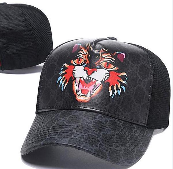 Sıcak 2019 Yağma marka Cayler Sons tiger Deri Snapback hip-hop spor kap erkekler kadınlar için beyzbol şapkası kemikleri snapbacks kemik gorras yüksek kalite