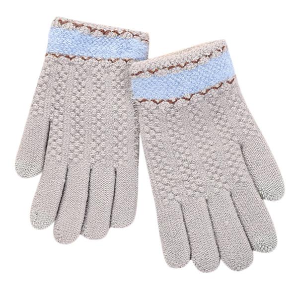 Women Multi-function Riding Screen Cute Winter Gloves Soft Warm Mitten touch screen gloves handschoenen winter guantes mujer