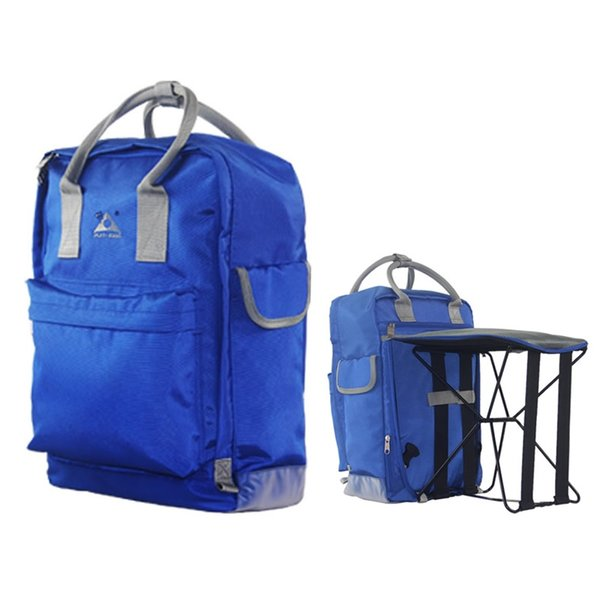 Fishing Chair Backpack Folding Chair Bag Outdoor Hiking Camping Trekking Travel Shoulder Backpack Portable Fishing Equipment #812845
