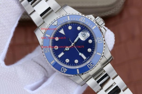 High Quality Luxury AAA Sapphire Automatic Mechanical 116619LB 40mm Blue Ceramic Bezel Dial diamond Luminous Mens Men's Watch Watches