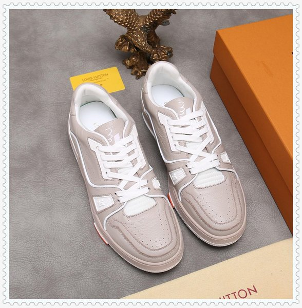 2019YL spring and autumn men's casual sports shoes high-top belt travel sneakers, with micro-standard, with the original box fast delivery