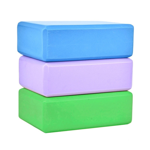 Eva Yoga Block Brick Home Exercise Pilates Gym Foam Workout Sports Stretching Aid Body Shaping Health Training Fitness Equipment C19040401