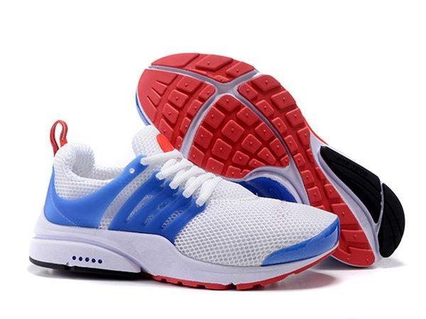 Vendita calda Scarpe da ginnastica Presto 5 da uomo Scarpe da ginnastica da uomo Nero Rosa Blu Rosso Bianco Scarpe da ginnastica di design Grigio Sport all'aria aperta U36