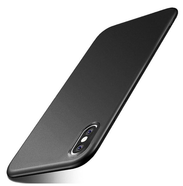 MOQ 1PC Mixed color case for iPhone XS Max XR 8 7 6 6S plus solid matte soft back TPU silicone case cover