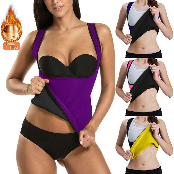 Vertvie 2019 Cintura Trimmer Prensa Cinturón Mujeres Cinturón de apoyo abdominal Corsé deportivo Faja Chaleco Entrenador de peso delgado Body Shaper # 311217