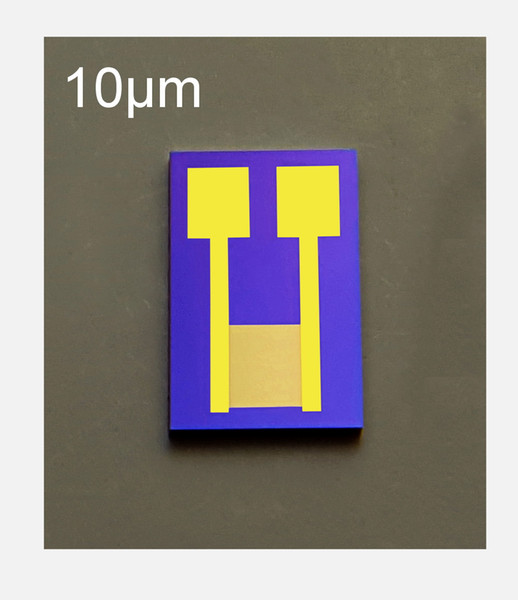 top popular 10 micrometers Interdigitated Electrodes IDE Silicon Substrate Sputter Gold MEMS Medical Chemical Sensor Biosensor Chip Customization 2020