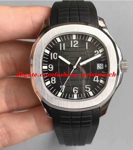 Luxury Watch 5 Style Mens 5167R 18kt Rose Gold Brown Dial 40mm Rubber Strap Automatic Fashion Men's Watches Wristwatch