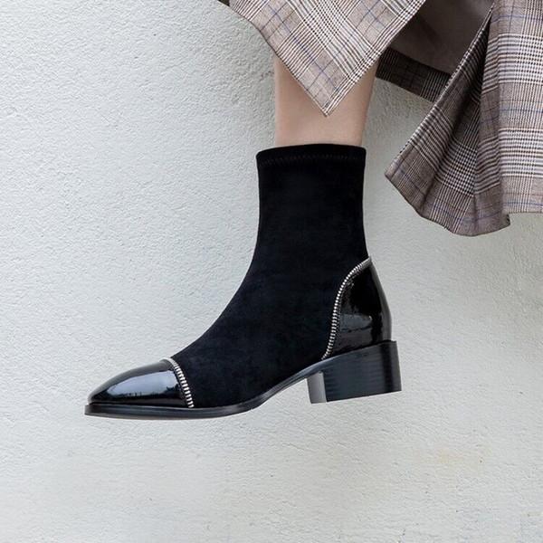 Plateforme De Luxe Nouvelles Acheter Véritable Cuir Hiver Bottes Bottines En Chaussures Knight 2019 Mode Femmes Chaussures Boucle Designer Bottes n0wPN8OkX