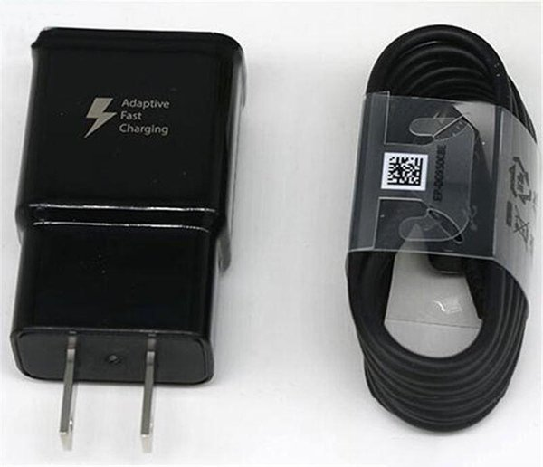 Top quality S8 Fast charging usb wall charger + Original 1.2m S8 Type C Cable 2A/5V 1.67A/9V Cell phone charger A889