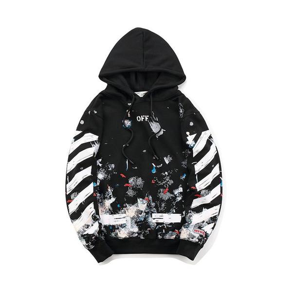 New classic OF marea marchio Europa e America fuochi d'artificio hip-hop street freccia maglione coppia tendenza moda casual felpa con cappuccio sport maglione M-XXL