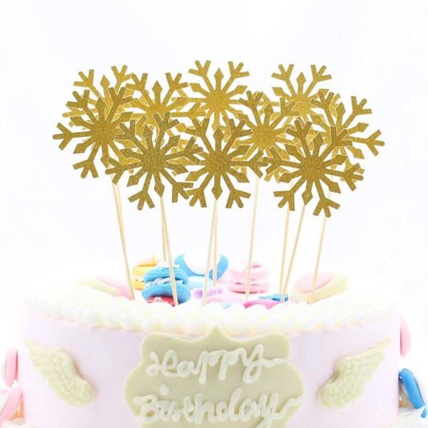 Fantastic 2020 50 Snowflake Cupcake Toppers Baby Girl Frozen Birthday Party Birthday Cards Printable Benkemecafe Filternl