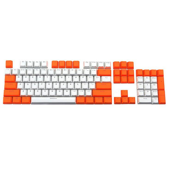 DIY PBT Keycaps Variety Of Color Choices For Cherry MX keys Mechanical Keyboard Key Cap Switches 104 overlay key US layout