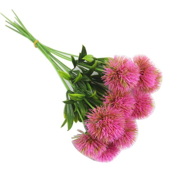Artificial Plant Dandelion Plastic Flower Arrangement Gardening Home Furnishings Home Wedding Fake Flower Festive Party Supplies