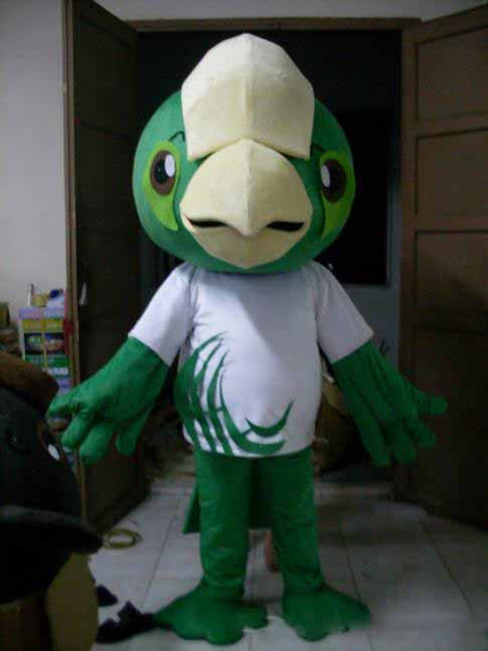 2019 new Green Birds mascot costume cute Birds Parrot costume costume for adults