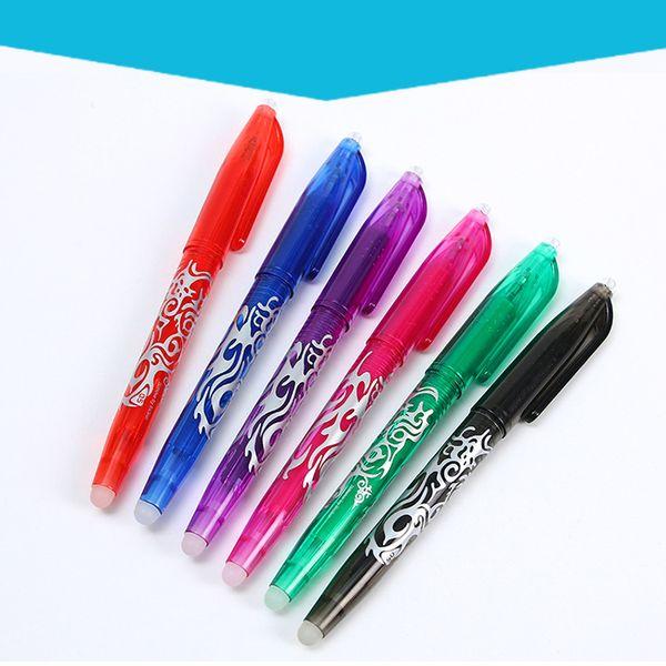 Creativa borrable bolígrafos de control de temperatura de color Plumas para la escuela material de oficina Escritura novedad de la Ítem