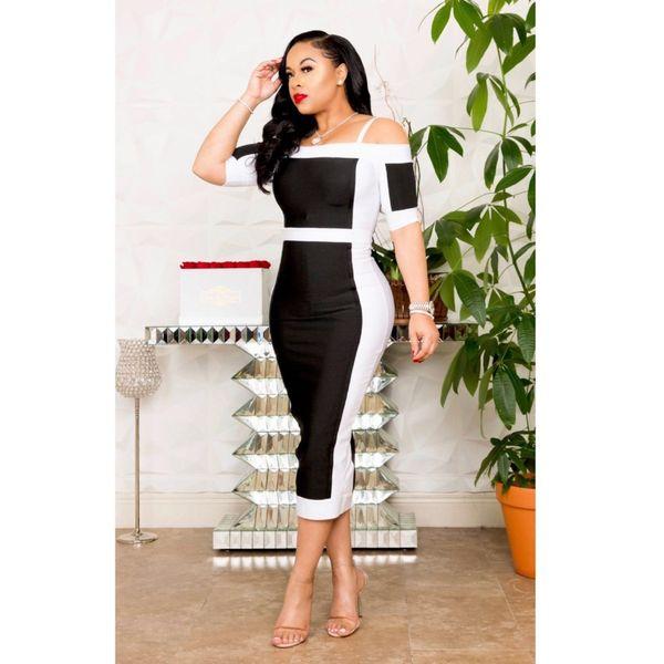 Frete Grátis 2019 Africano Dashiki vestidos de Moda de Nova Bazin Elastic Party Famosos vestidos de Design sexy Para A Senhora