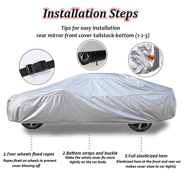 NEW Audi TT Quality Medium Waterproof Full Car Cover with Elasticised Hem