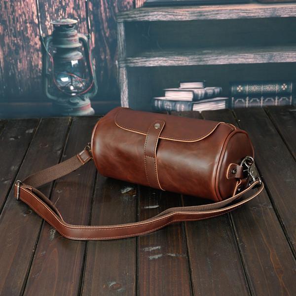 20SS новый стиль мода ретро тенденция кожи конструктора посыльного сумки сумка Современные мужские сумки Бизнес сумки Портфели Crossbody сумка