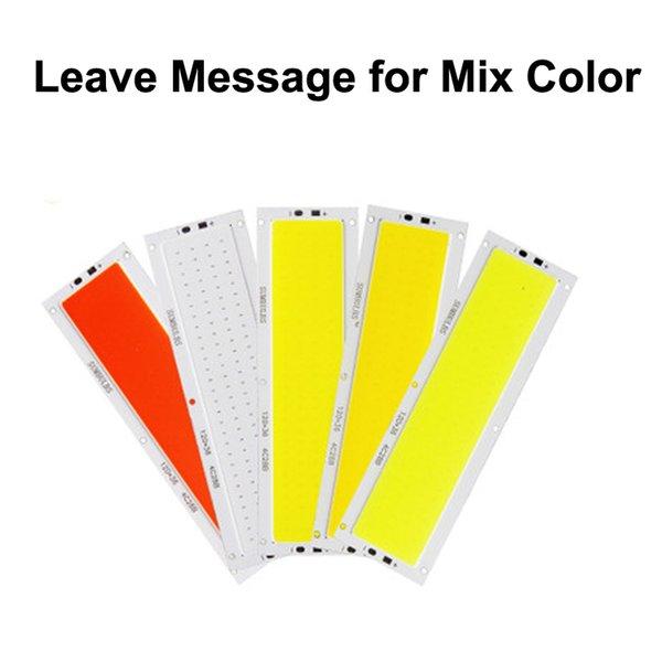 Laisser le message pour la couleur de mélange